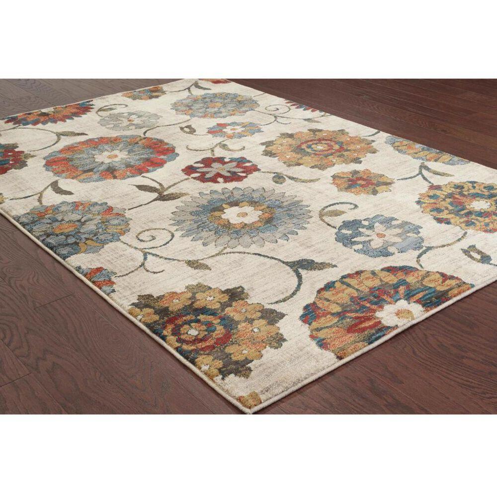 "Oriental Weavers Sedona 6361A 9'10"" x 12'10"" Ivory Area Rug, , large"