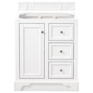 "James Martin De Soto 30"" Single Bathroom Vanity Cabinet in Bright White, , large"