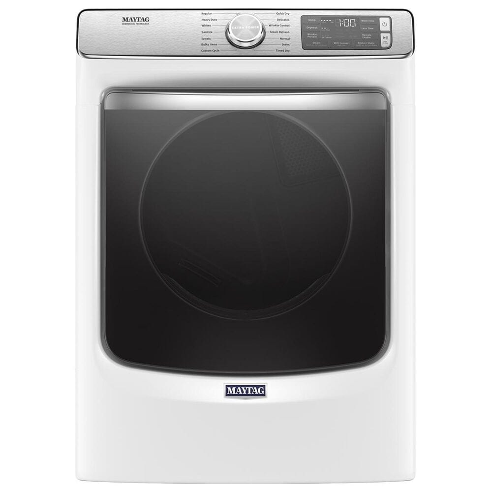 Maytag 7.3 Cu. Ft. Gas Dryer with 14 Dry Cycles in White, , large