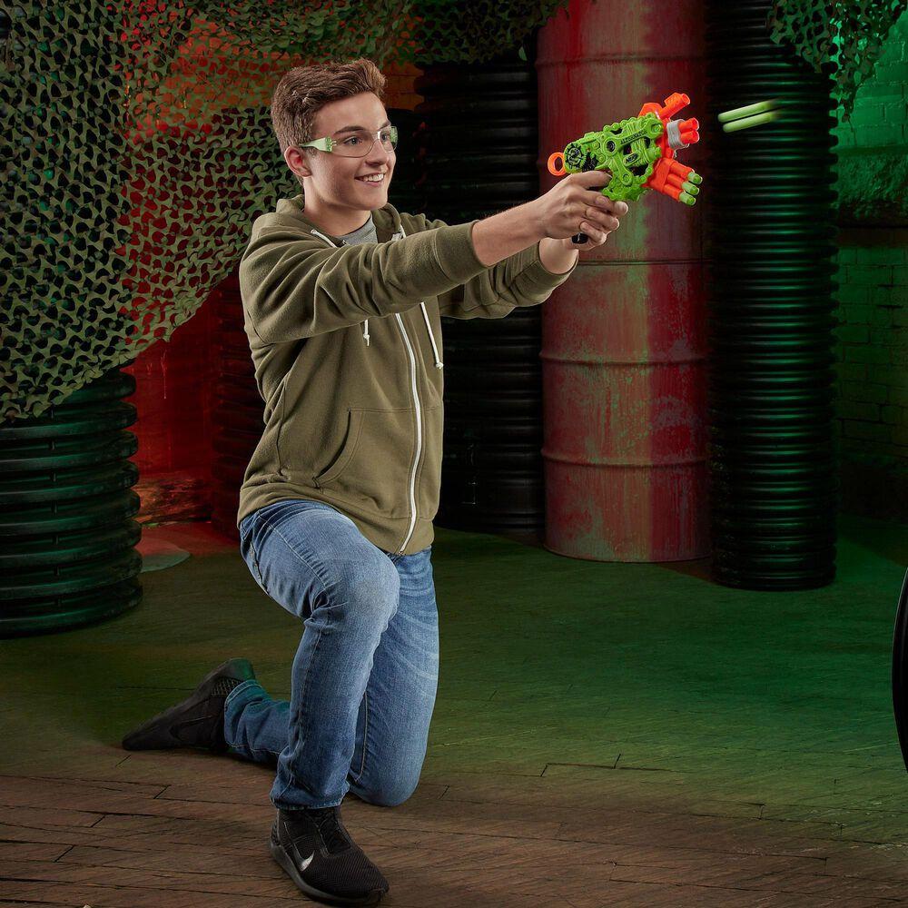 Hasbro Nerf Zombie Strike Alternator Blaster 12 Darts, , large