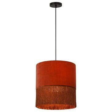 Tov Furniture Atolla Pendant in Brick, , large