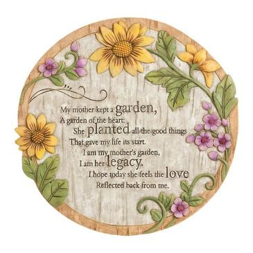 Evergreen Wish Givers Mother's Garden Stone, , large