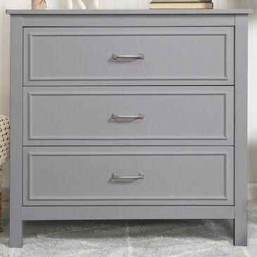 DaVinci Charlie 3 Drawer Dresser in Grey, , large