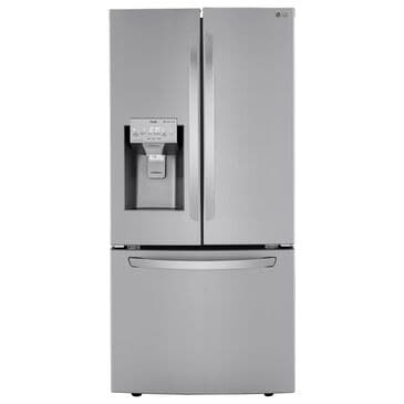 LG 25 Cu. Ft. Smart Wi-Fi Enabled French Door Refrigerator with External Dispenser in Stainless Steel , , large