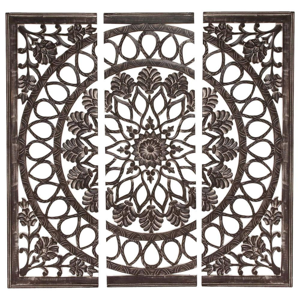 """Maple and Jade 72"""" Wall Panel in Black, , large"""