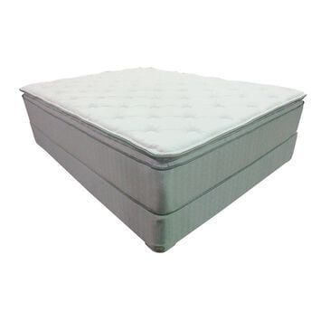 Omaha Bedding Imperial Pillow Top Firm Queen Mattress with High Profile Box Spring, , large