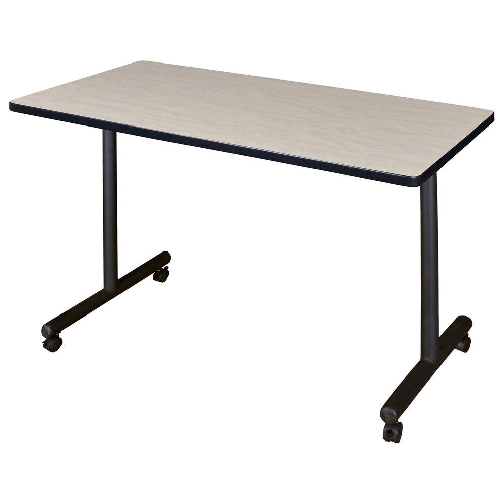"Regency Global Sourcing Kobe 48"" x 30"" Mobile Training Table in Maple, , large"