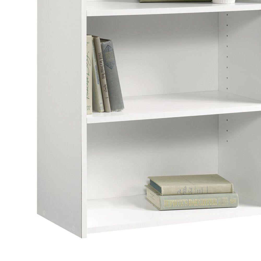 Sauder Beginnings 3-Shelf Bookcase in Soft White, , large