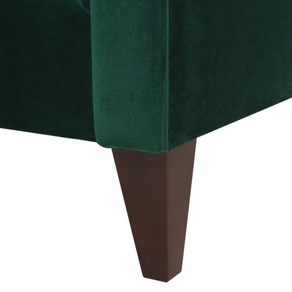 Jennifer Taylor Home Jack Tufted Tuxedo Sofa in Evergreen, , large