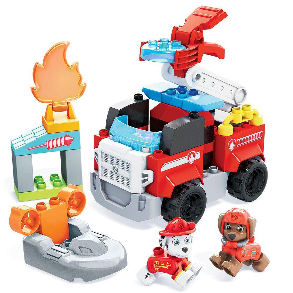 """Mega Bloks Mega Bloks Paw Patrol Marshall""""s Fire Rescue Set, , large"""