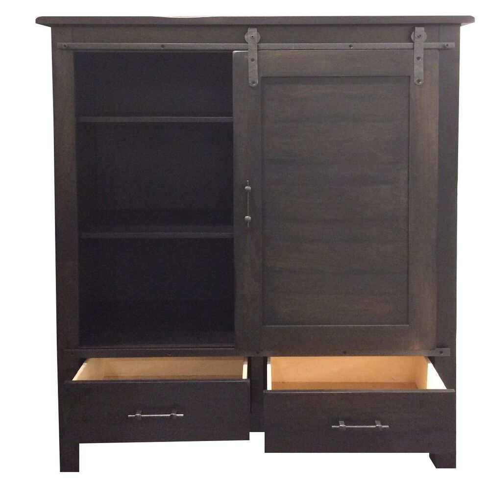 Daniel's Amish Collection Wildwood Armoire in Colin, , large