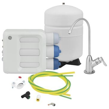 GE Appliances Reverse Osmosis Filtration System in White, , large