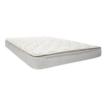 Omaha Bedding Celebrity Pillow Top Plush Queen Mattress Only, , large