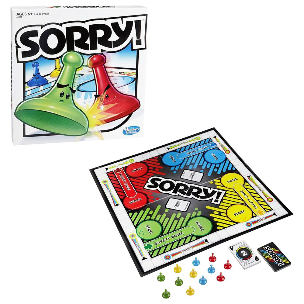 Hasbro Gaming Sorry! Game, , large