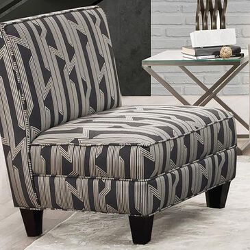 Northwestern Lynx Accent Chair in Charcoal, , large