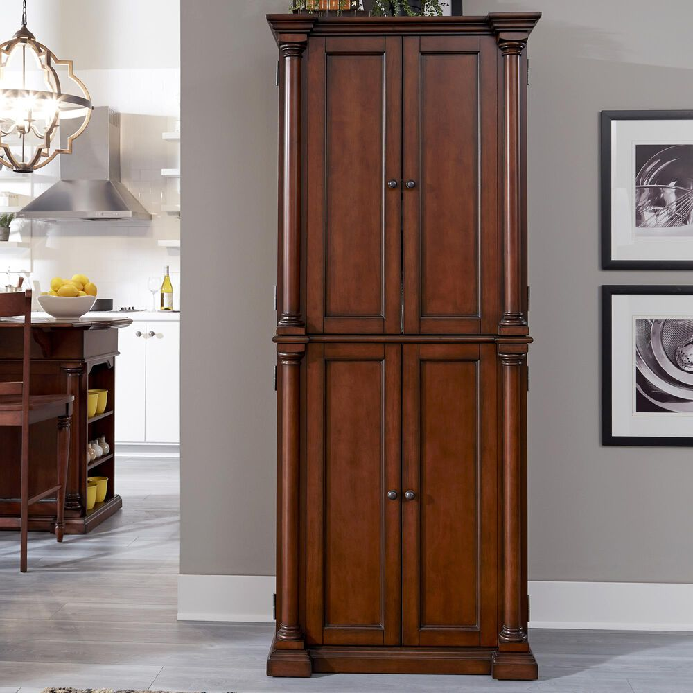 Home Styles Beacon Hill Pantry in Aged Cherry, , large