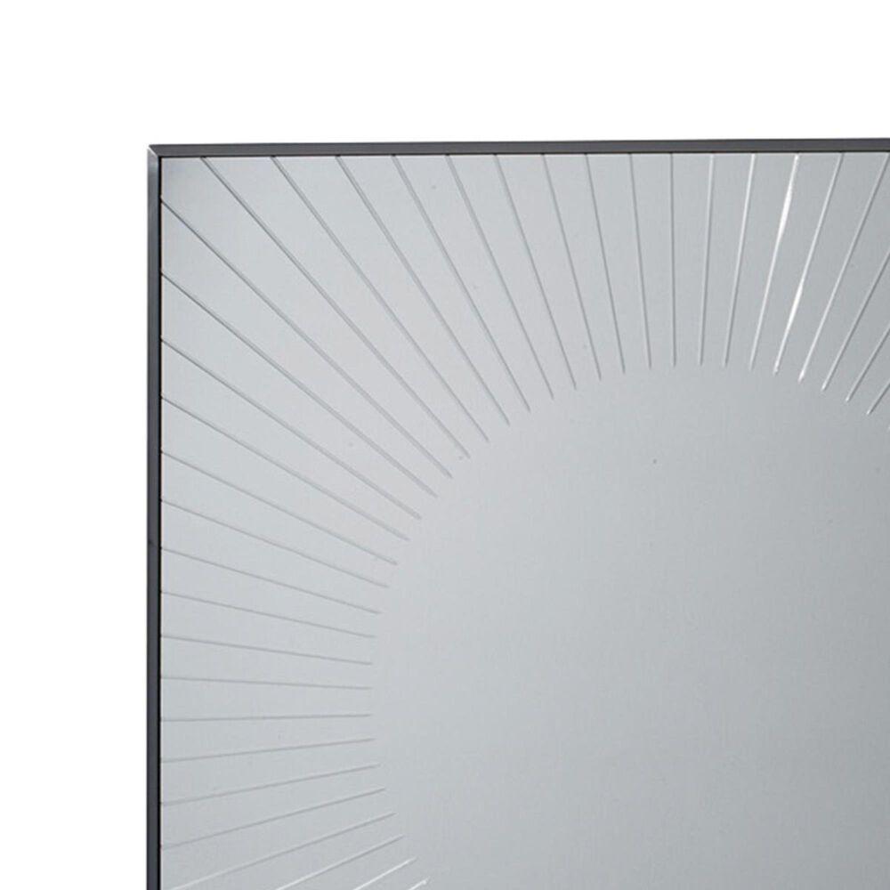 Lexington Furniture Macarthur Park Calliope Square Sunburst Mirror, , large