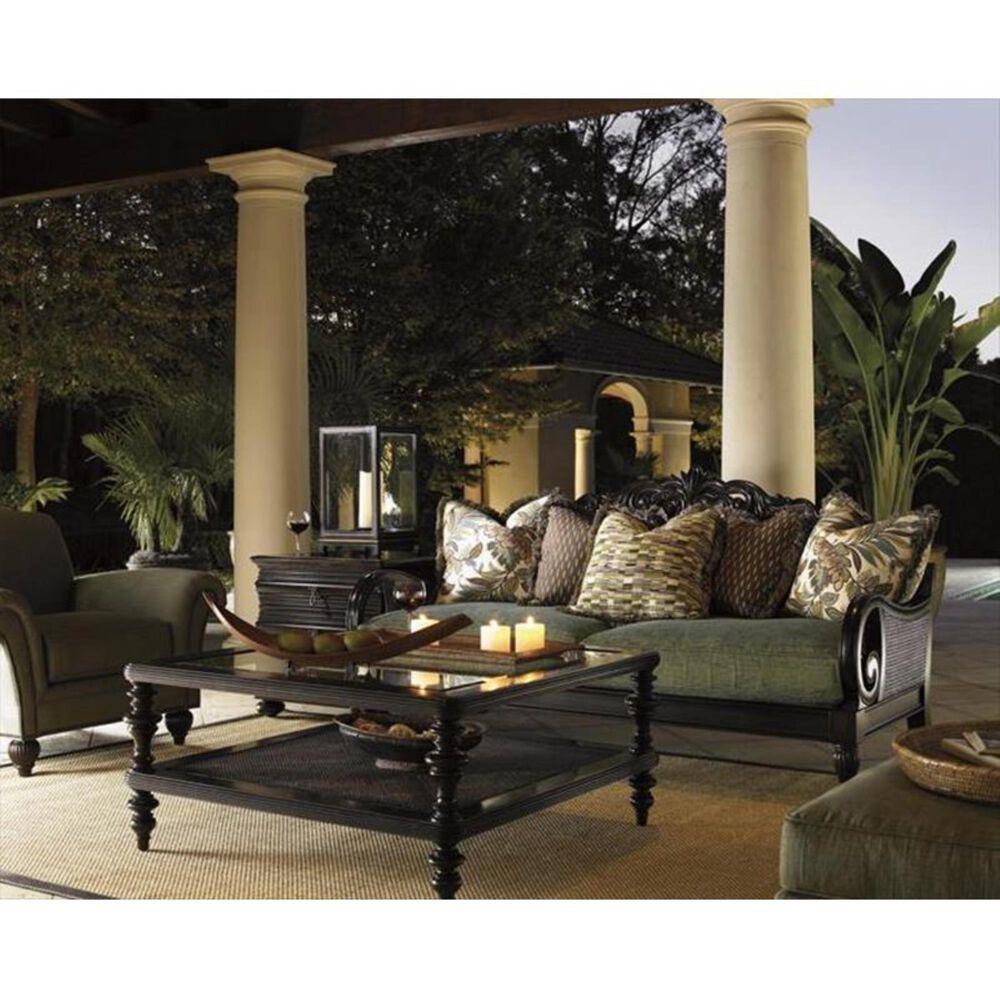 Tommy Bahama Home Royal Kahala Black Sands Lamp Table, , large