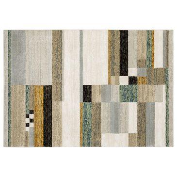 "Oriental Weavers Strada Winsted STR07 5""3"" x 7""3"" Beige Area Rug, , large"