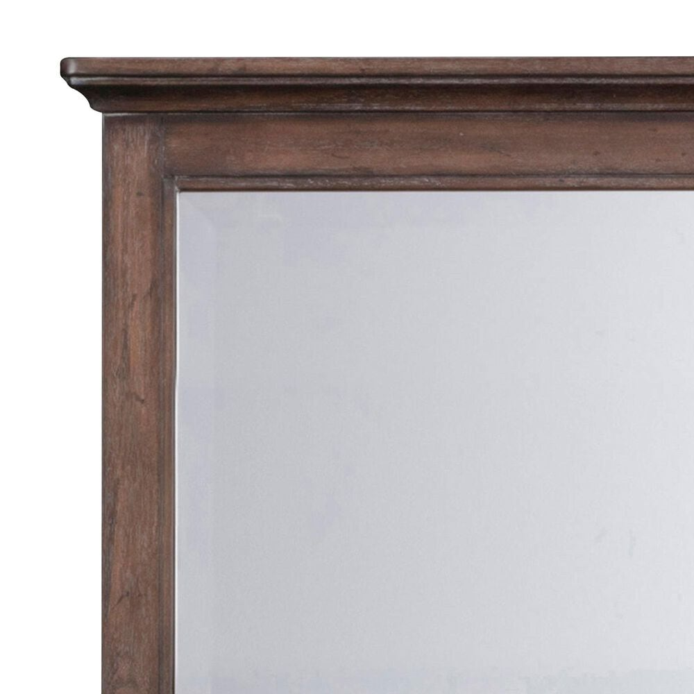Home Styles Southport Mirror in Distressed Oak, , large