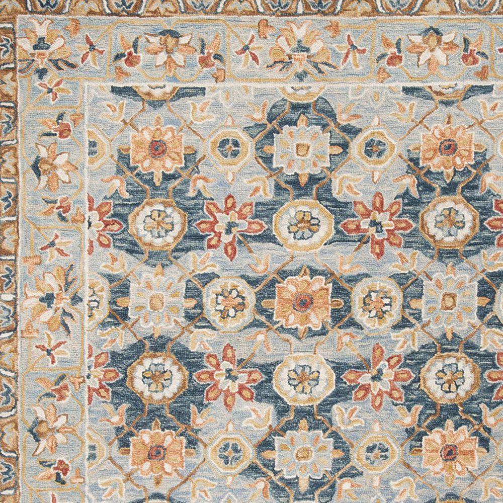 Safavieh Aspen 3' x 5' Gray and Navy Area Rug, , large