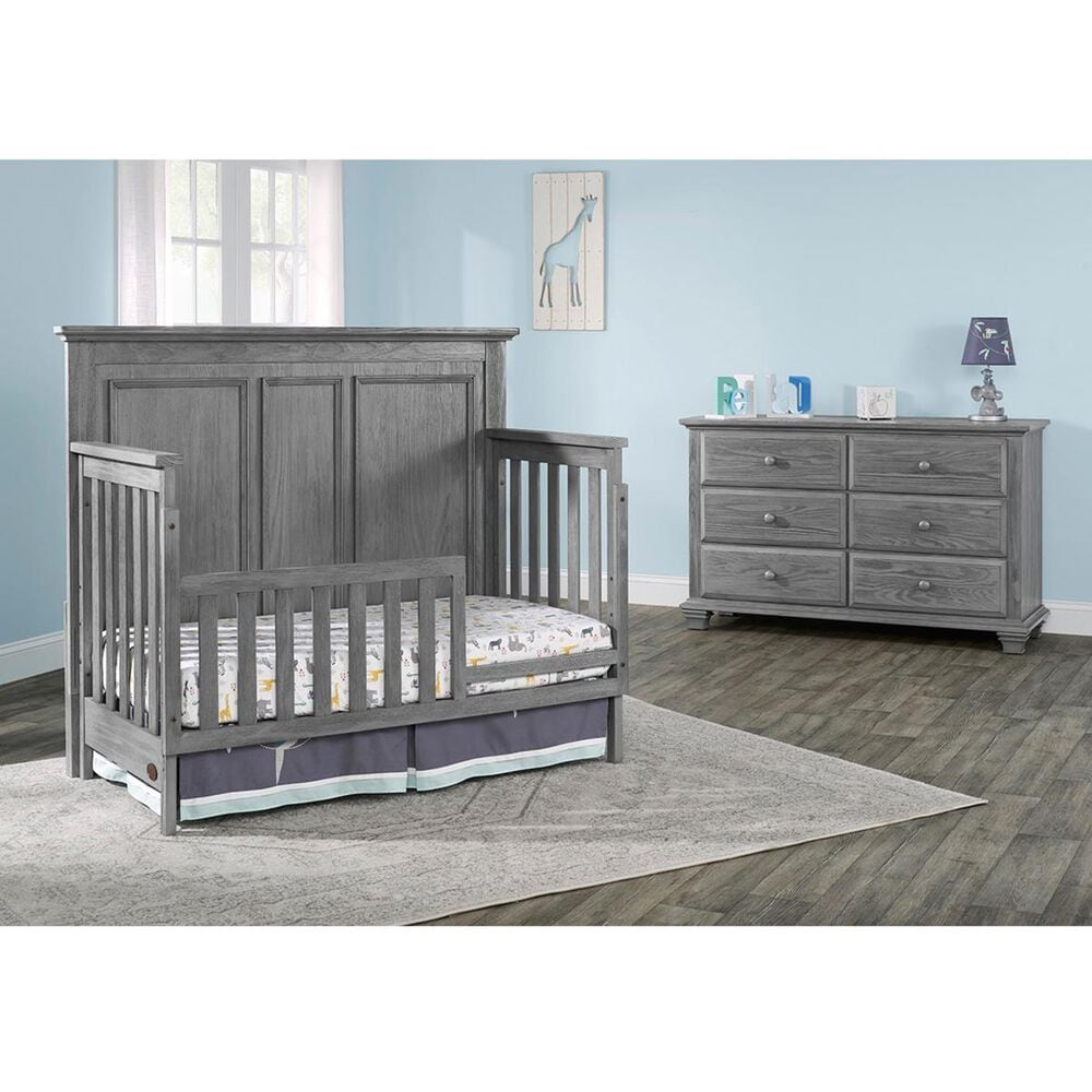 Oxford Baby Kenilworth Toddler Guard Rail in Graphite Gray, , large