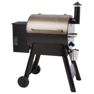 """Traeger Grills Pro Series 22"""" Pellet Grill in Bronze, , large"""