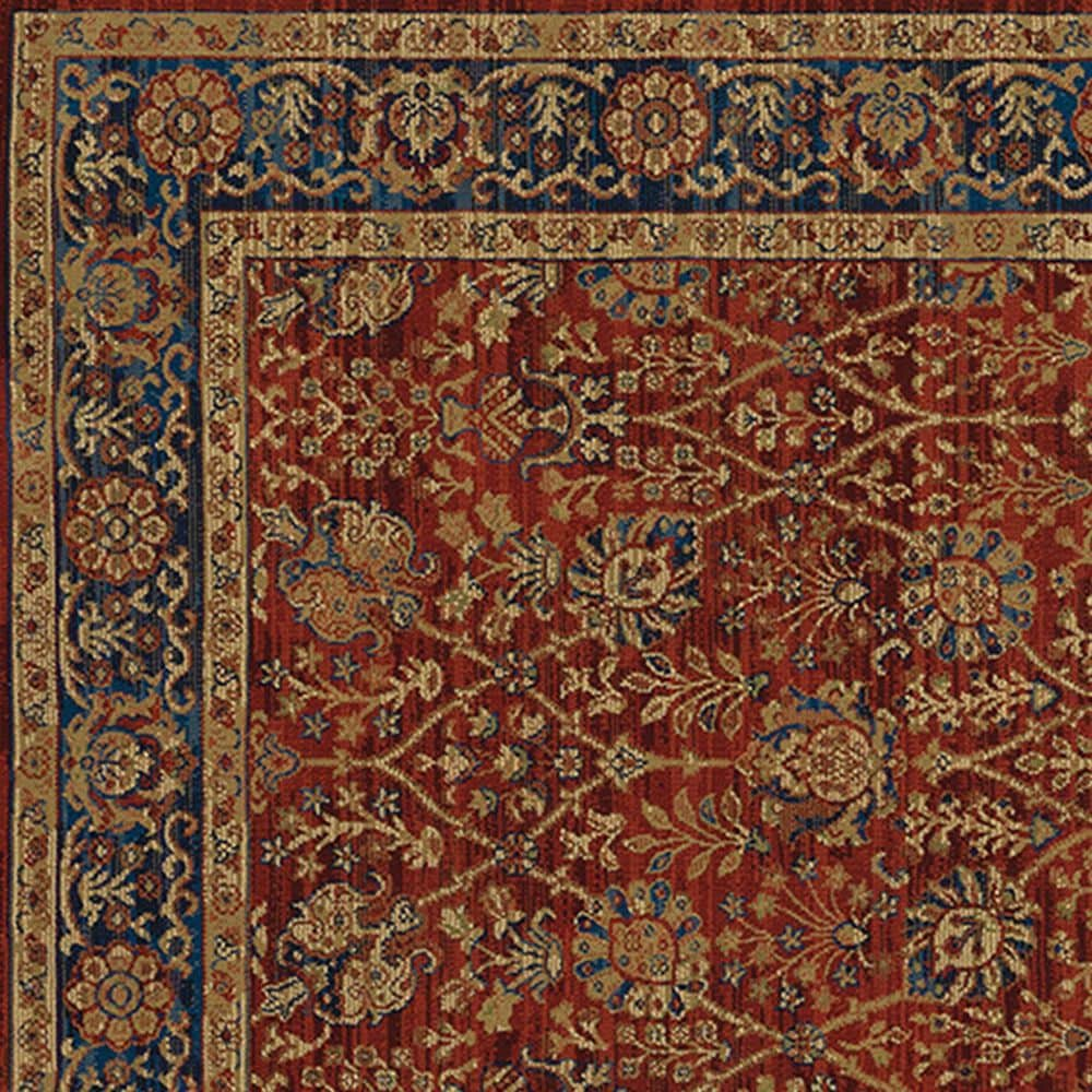 "Oriental Weavers Ankara 501R5 9'10"" x 12'10"" Red Area Rug, , large"