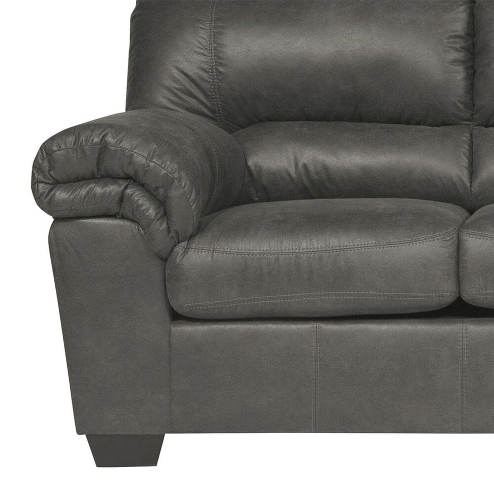 Signature Design by Ashley Bladen Sofa and Loveseat in Slate, , large