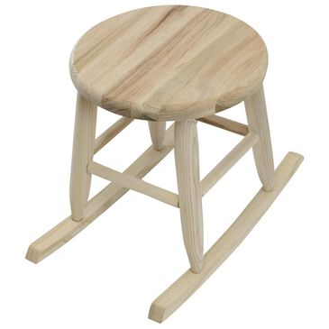 Lakeside Garland Garden Stool in Unfinished, , large