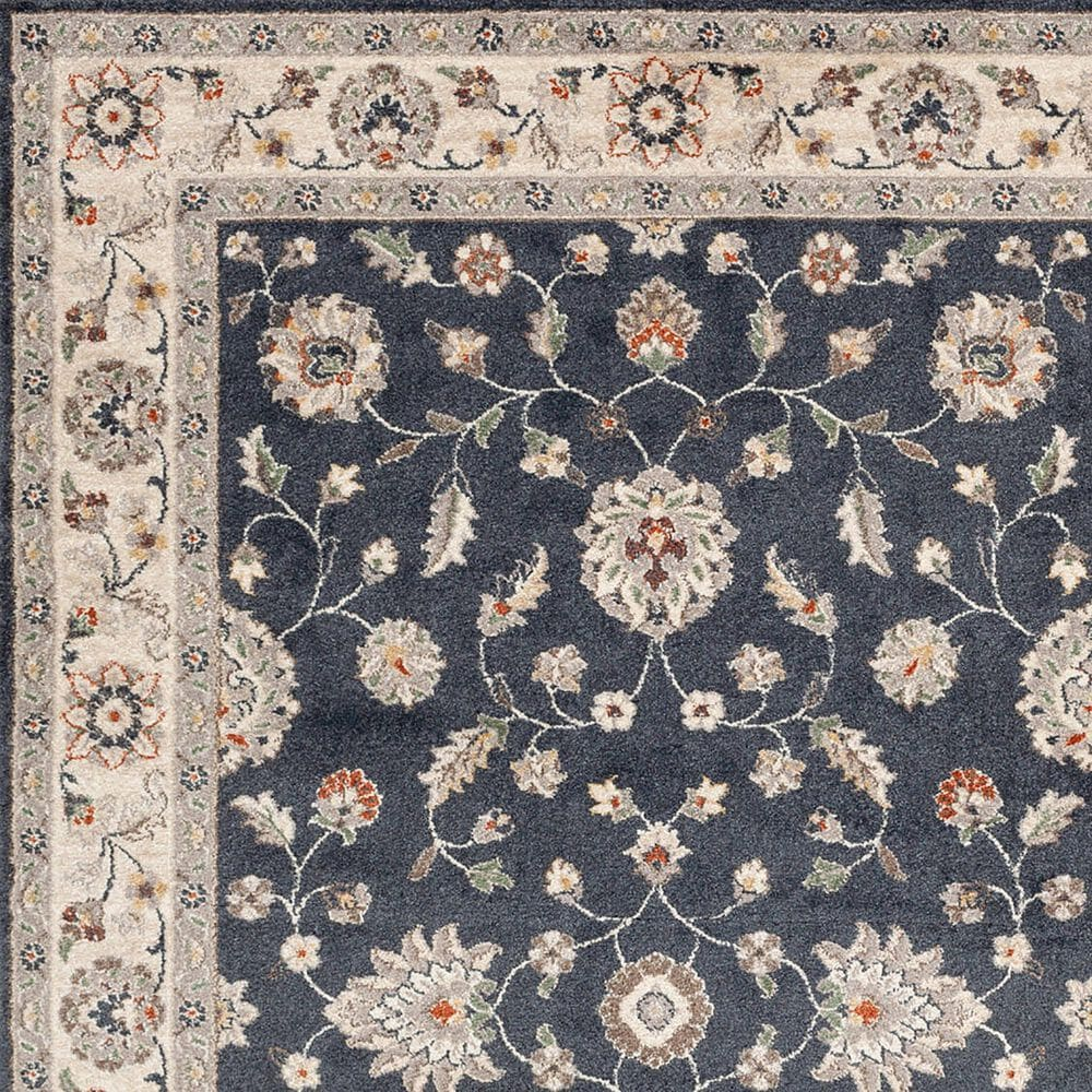Central Oriental Minerva Maneli 7203VB 8' x 10' Vintage Blue and Alabaster Area Rug, , large