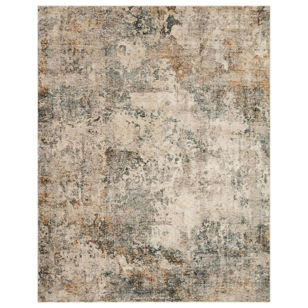 Loloi Axel 2' x 3' Ocean and Beige Area Rug, , large