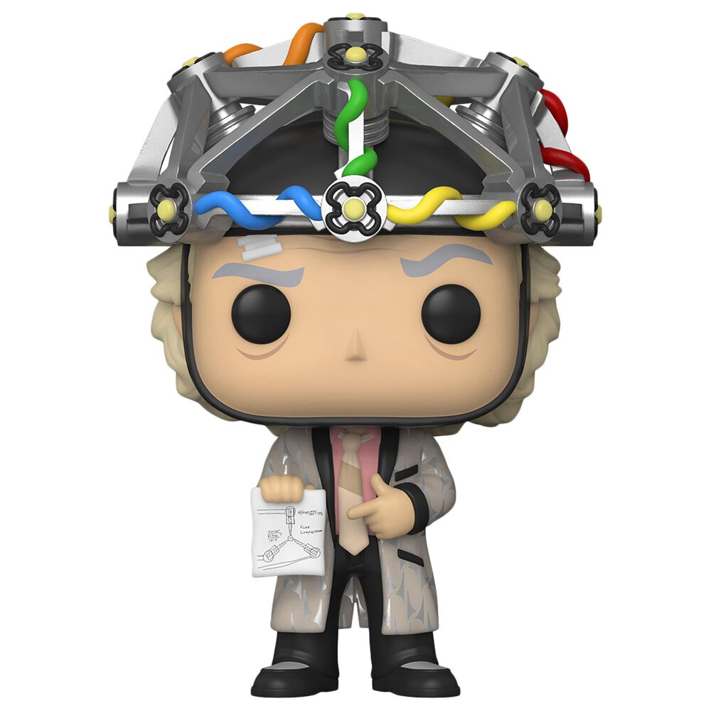 Funko POP! Back to the Future: Doc with Helmet, , large