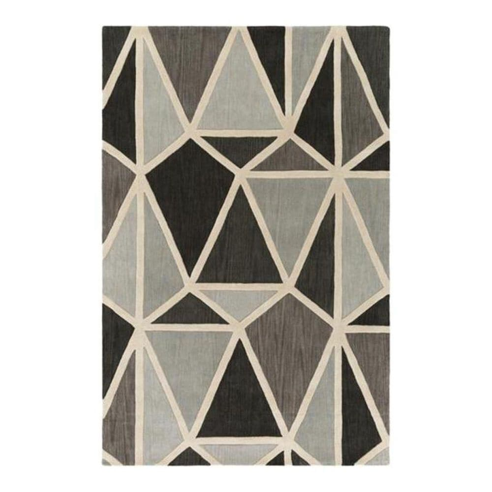 Surya Oasis OAS-1117 2' x 3' Gray/Charcoal/Gray Scatter Rug, , large