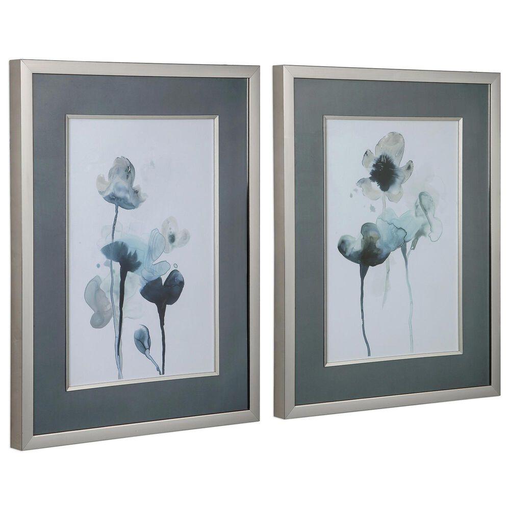 Uttermost Midnight Blossoms Framed Prints (Set of 2), , large