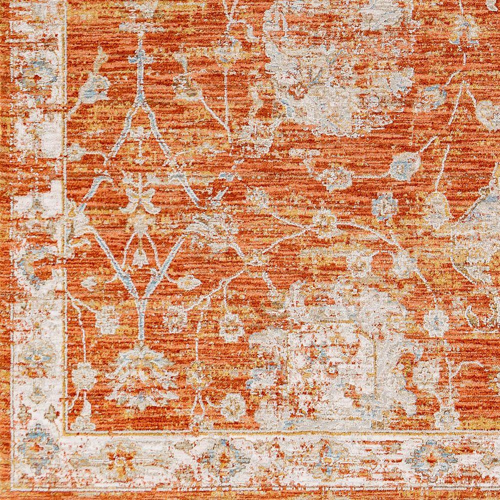 Surya Avant Garde AVT-2321 2' x 3' Orange, Blue and Beige Area Rug, , large