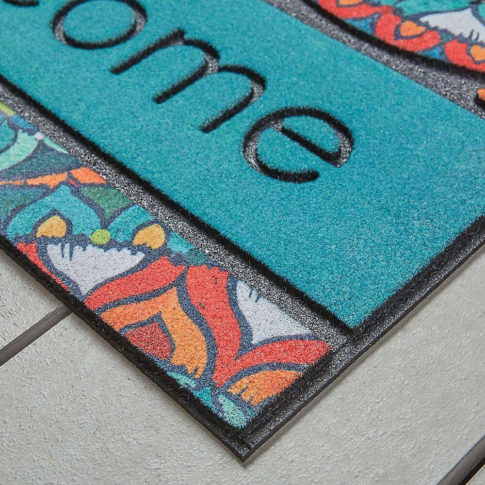 """Karastan Doorscapes 1'6"""" x 2'6"""" Multicolor Door Mat, , large"""