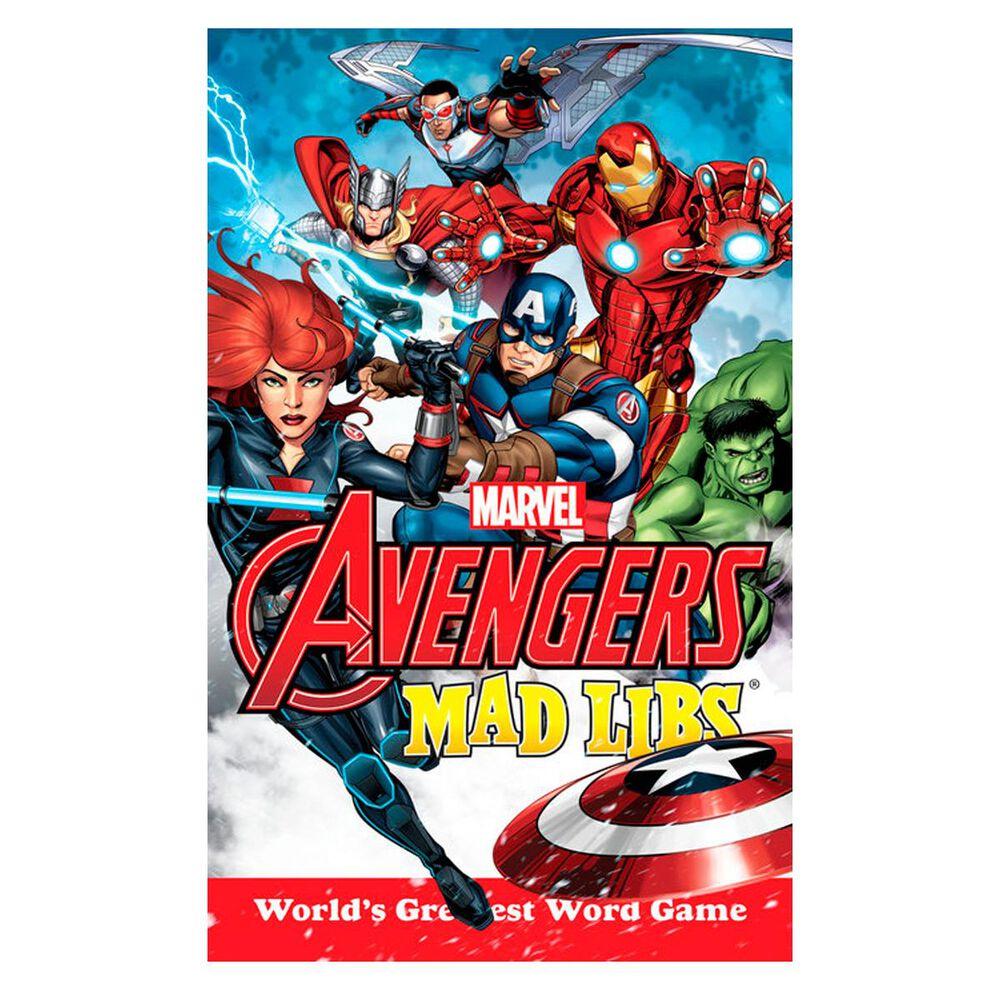 Marvels Avengers Mad Libs, , large