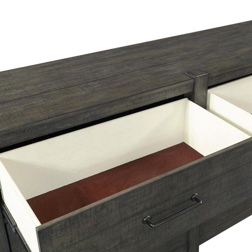 Riva Ridge Mill Creek 4 Piece Twin Low Profile Bed Set with 2-Drawer Nightstand in Carob, , large