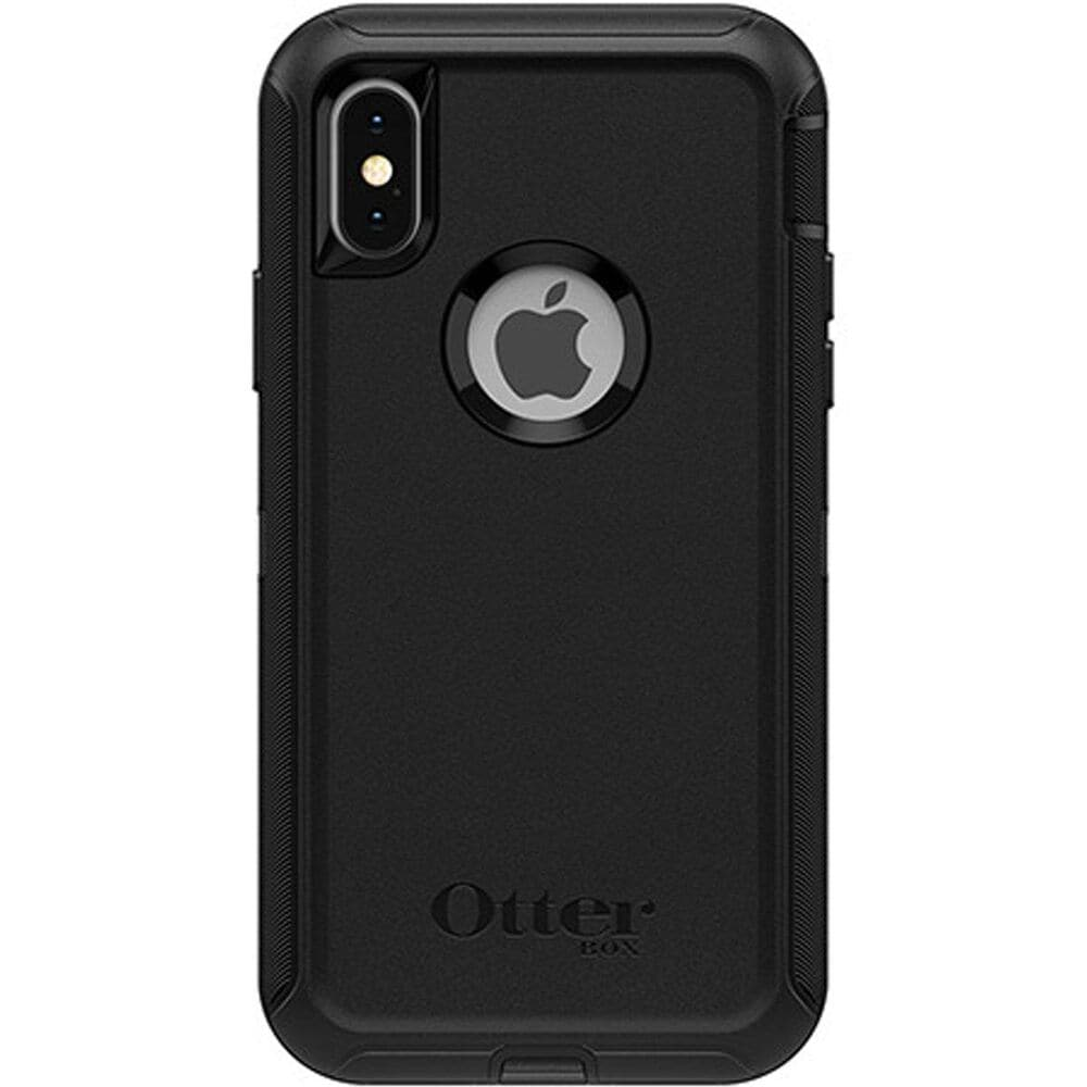 Otterbox Defender Series Screenless Edition Case in Black on iPhone X/Xs, , large