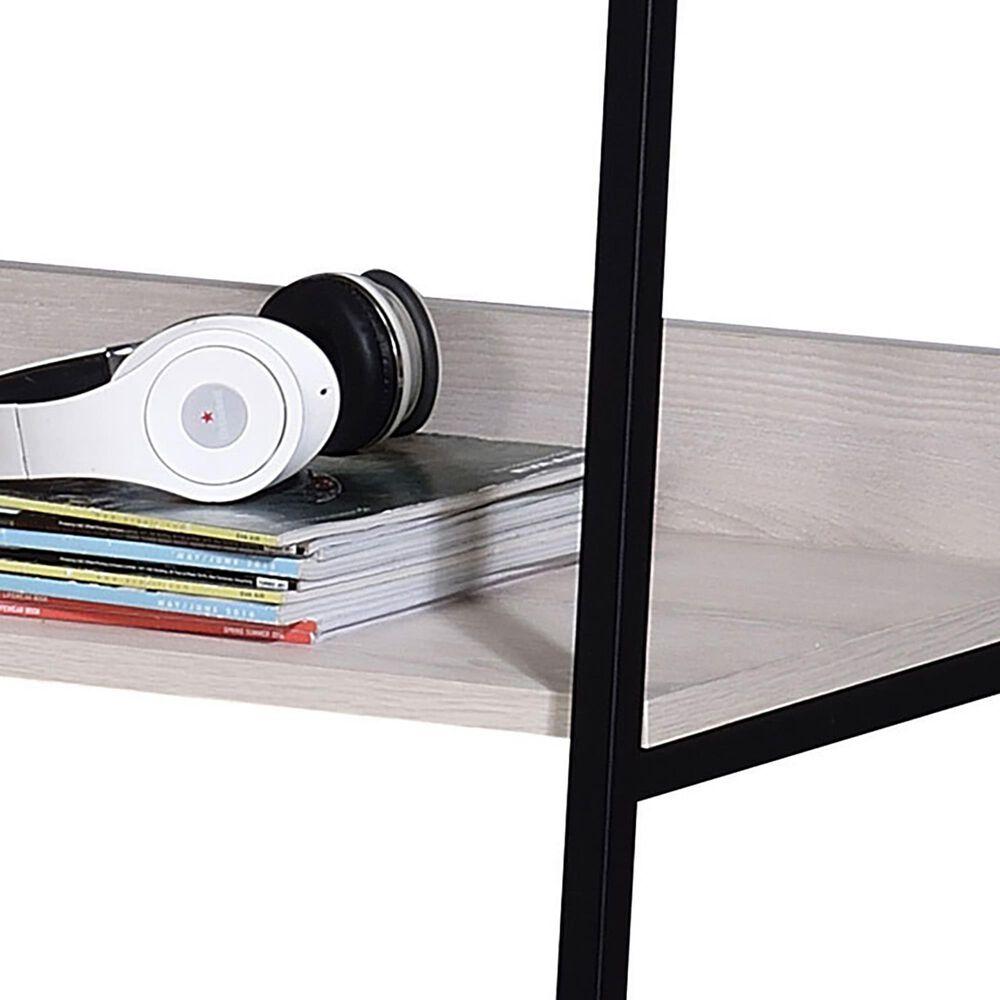 Gunnison Co. Wendral Bookshelf in White/Black, , large