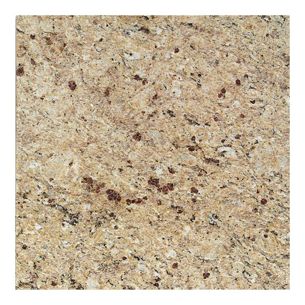 """Dal-Tile Granite New Venetian Gold 12"""" x 12"""" Polished Natural Stone Tile, , large"""