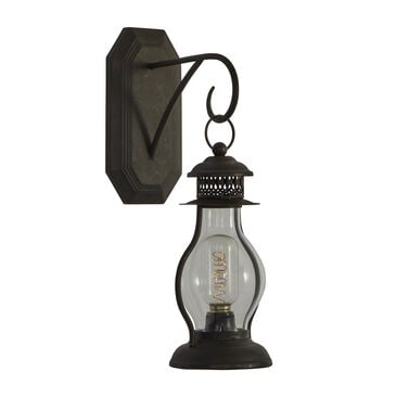 """Maple and Jade 17"""" Industrial Metal Wall Sconce in Black, , large"""