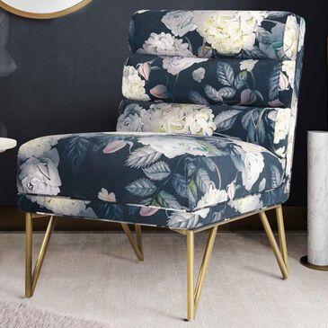 Tov Furniture Kelly Velvet Chair in Floral, , large