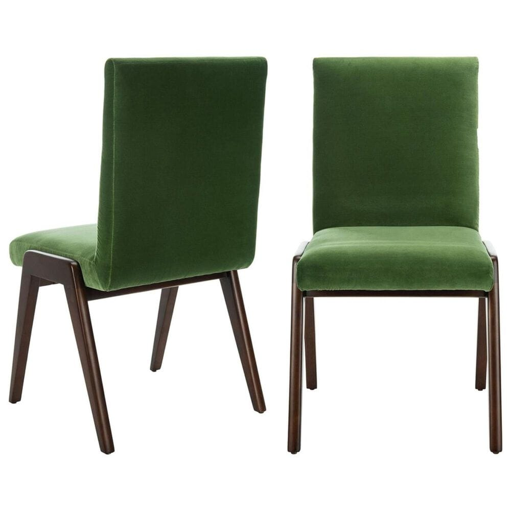 Safavieh Forrest Dining Chair in Moss (Set of 2), , large