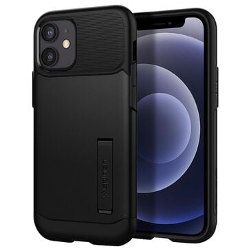 Spigen Slim Armor Case For Apple iPhone 12 Mini in Black, , large