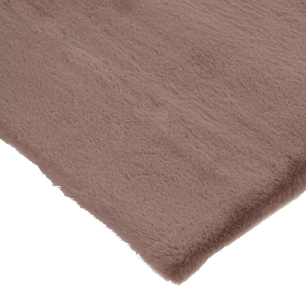 Feizy Rugs Luxe Velour 4' x 6' Pink Area Rug, , large