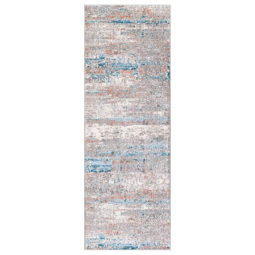 """Surya Tibetan TBT-2322 2'7"""" x 7'7"""" Rust, Ivory, Green, Teal and Coral Runner, , large"""