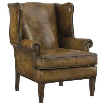 Hooker Furniture Blakeley Club Chair in Brown, , large