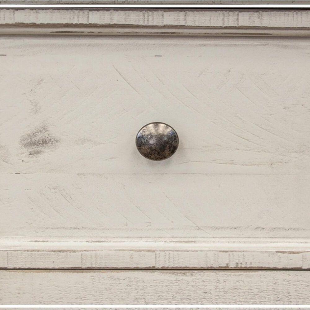 Fallridge Stone 6 Drawer Dresser in Eggshell Antiqued, , large